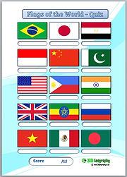 flag quiz | national flags quiz | flag worksheet | flags worksheets