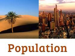 Population Geography | population facts | KS3 Geography