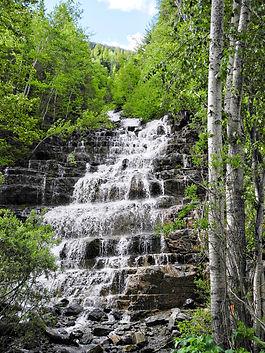 a beautiful waterfall | geography waterfall