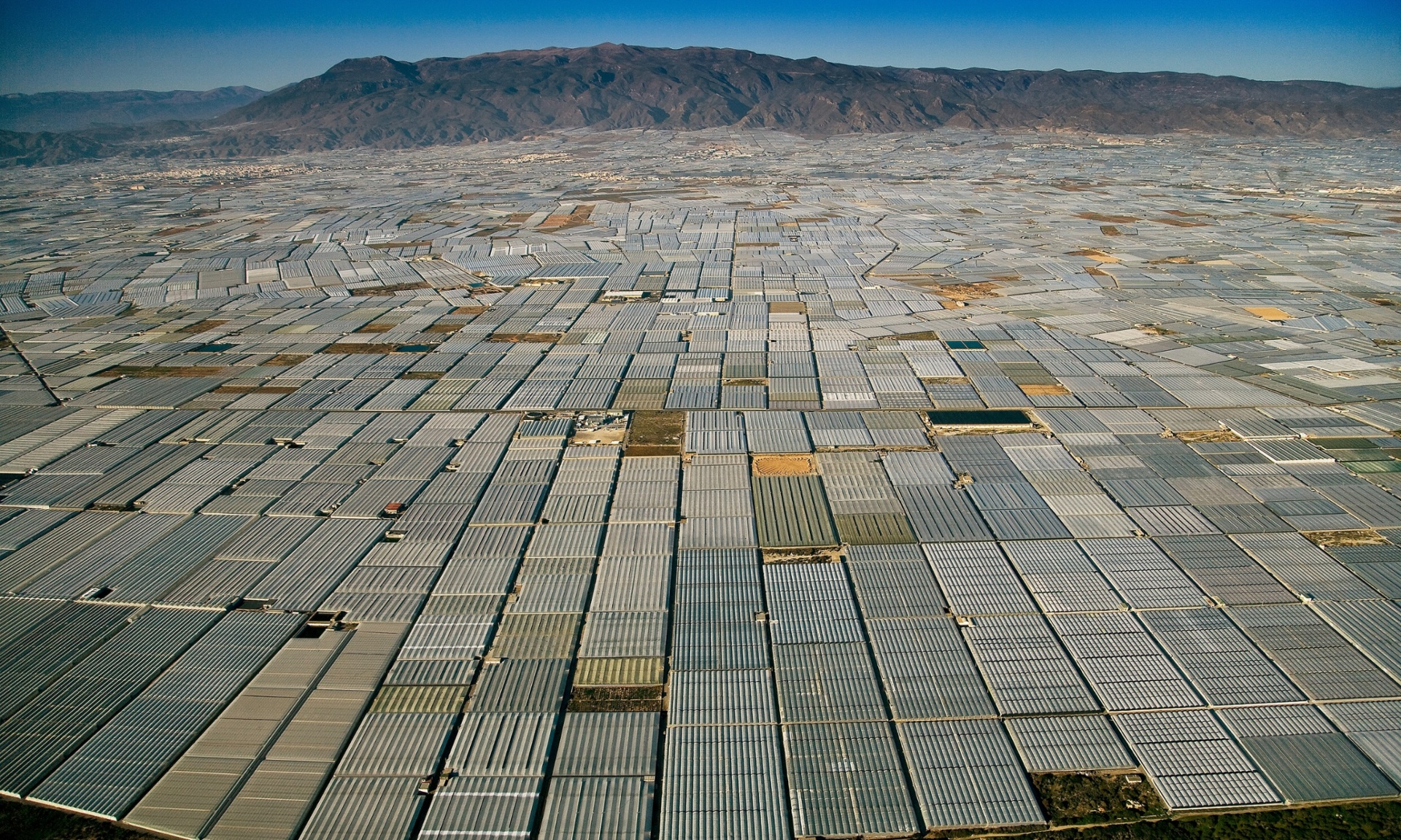 Greenhouses in Almeria, Spain