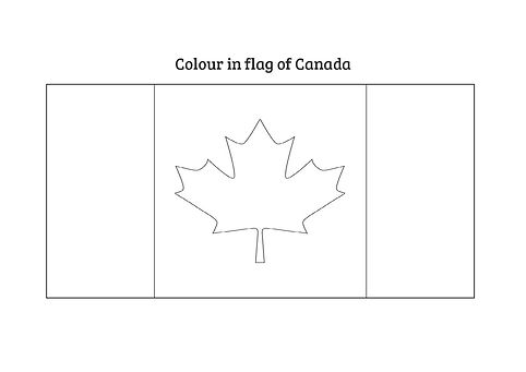 colour in canadian flag