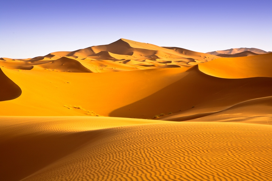 Sparsely populated - Desert