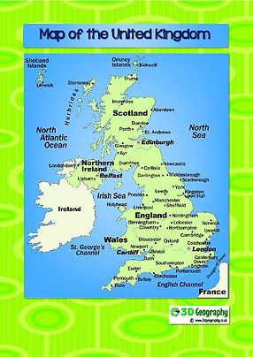 Map Of England Showing Major Cities.Maps Of The Uk