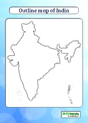 India map outline map of india thecheapjerseys Images