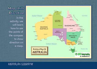 Australia: States and Territories - Map Quiz Game