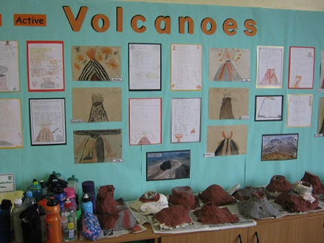 volcano lesson ideas