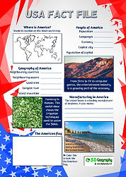 usa geography fact file