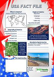 usa geography fact file