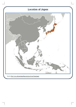 Where is japan in asia?