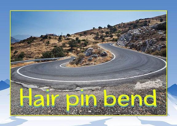 switchback | hair pin turn | mountain words