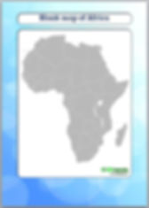 blank map of africa | outline map of africa
