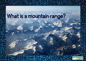 Mountain pictures for class display