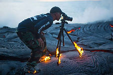 Awe and wonder volcano images