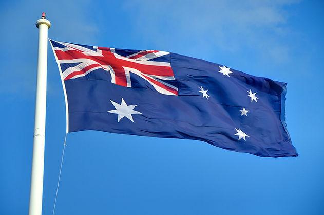 australian flag picture | flag of australia