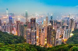 Crowded cities - Hong Kong