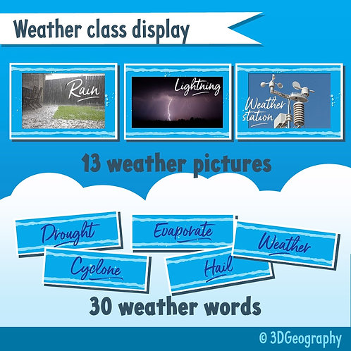 Weather class display