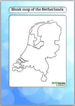 blank map of the netherlands | outline map of the netherlands | netherlands blank map | holland blank map | holland outline map