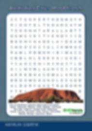 australia word search | australia ks2 | worksheets on australia