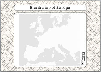 blank europe map | blank map europe | outline map of europe | | outline europe map | geography for kids | geography lessons