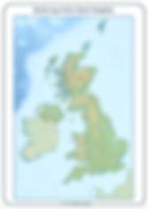 Blank UK map   UK worksheets