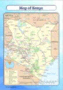 map of kenya for kids | download map of kenya | kenya map pdf