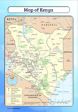 map of kenya for kids | download map of kenya | free map of kenya for schools