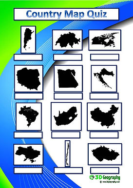 printable map quiz | geography quiz | geography test