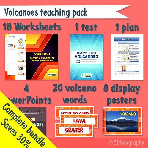 Volcano teaching pack