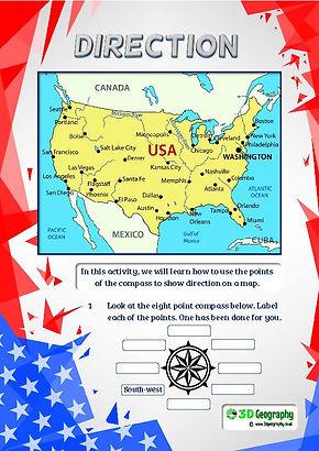 usa worksheet | usa worksheets | worksheets on america