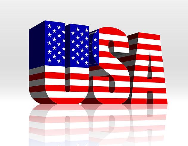 USA flag title image