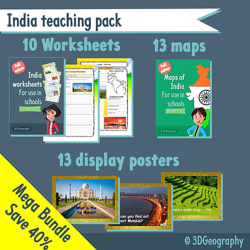 All about India - Teaching resources