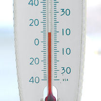 recording the temperature