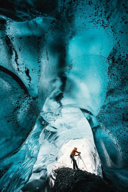 glaciers from the inside