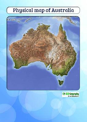 map of australia for kids | download map of australia