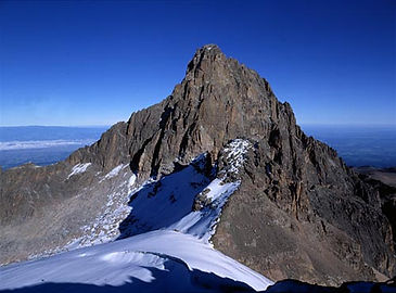 Mount kenya is the tallest mountain in Kenya.