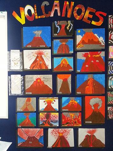 volcano class display