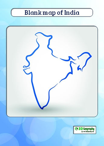 blank map of india | india map pdf | india map for kids | outline map of india