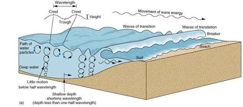 coast geography | geography of coasts | features of coasts