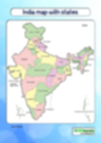 india map download | india map for kids | map of india with states