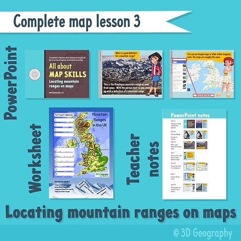 Map skills complete lesson 3