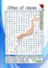 free japan word search