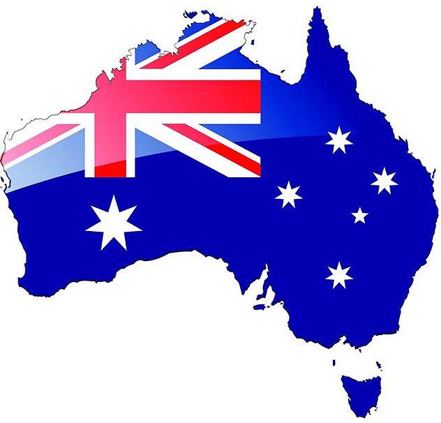 interesting australian flag image