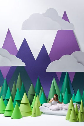 mountain displays