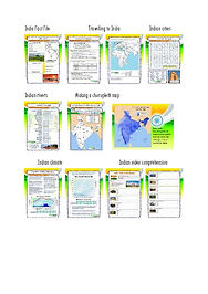 worksheets on india