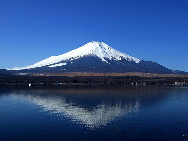 Volcano picture - Mount Fuji in Japan | volcanoes for kids | volcanoes ks2