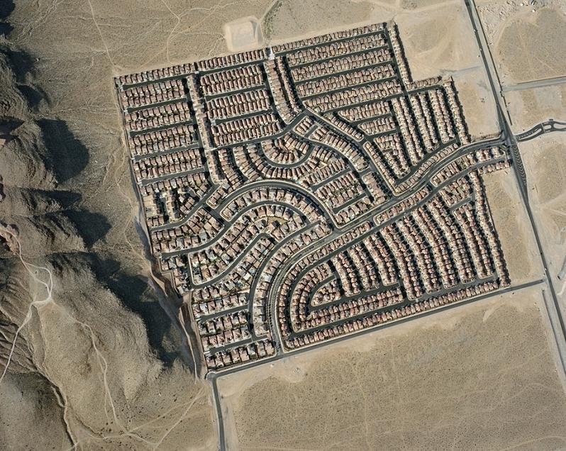 Urban sprawl in Nevada