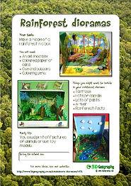 free rainforest worksheets