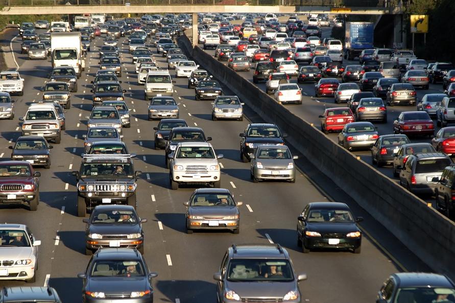 Crowded roads - LA