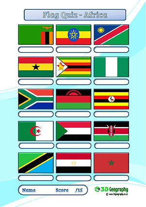 geography quiz | geography test | flag quiz | national flags quiz | flag worksheets