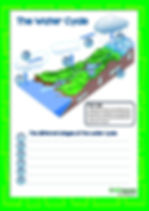 the water cycle | water pollution worksheet